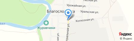 Общественный пункт охраны правопорядка на карте Благословенки