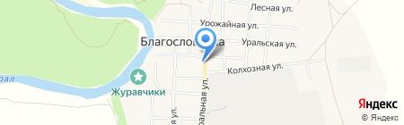 Магазин ТПС №7\/1 на карте Благословенки