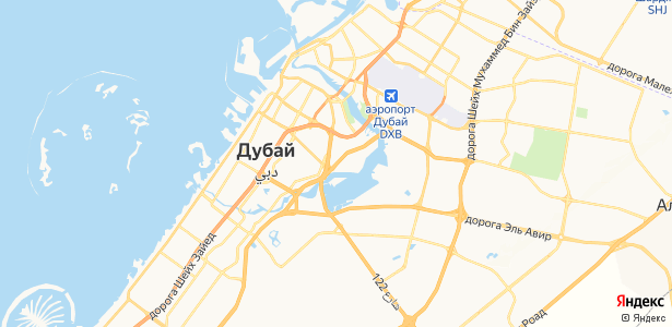 Dubai на карте