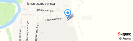 КП-домостроение на карте Благословенки