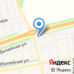 Крепмаркет на карте Оренбурга