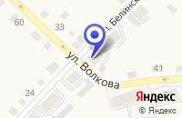 Схема проезда до компании ПРОМТОВАРНЫЙ МАГАЗИН ОХАНСКОЕ ГОРПО в Оханске