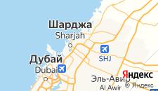 Отели города Шарджа на карте