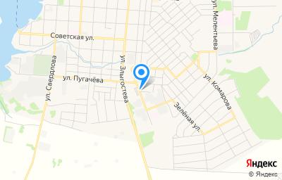 Местоположение на карте пункта техосмотра по адресу Пермский край, г Оса, ул Октябрьская, д 95Б