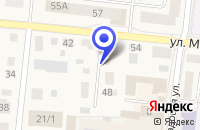 Схема проезда до компании АВТОСЕРВИС М-АВТО в Осе