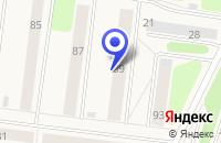 Схема проезда до компании АВТОШКОЛА ФЕНИКС в Осе