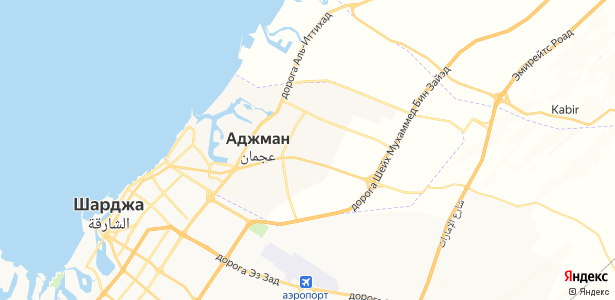 Ajman на карте