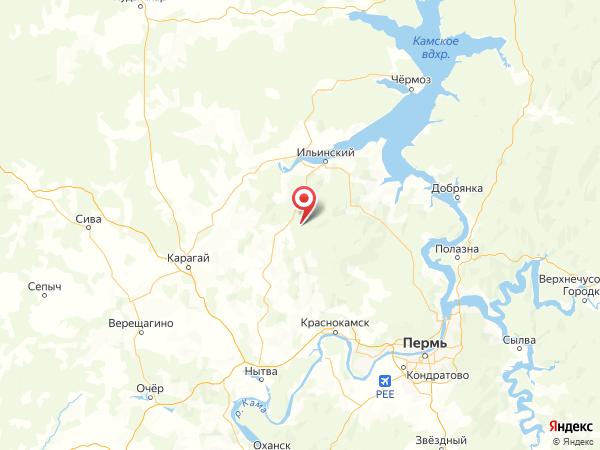 деревня Пустынь на карте