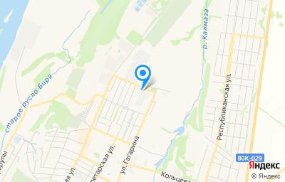 Местоположение на карте пункта техосмотра по адресу Респ Башкортостан, г Бирск, ул Интернациональная, д 124