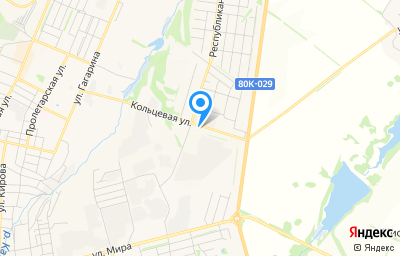 Местоположение на карте пункта техосмотра по адресу Респ Башкортостан, г Бирск, ул Кольцевая, д 15