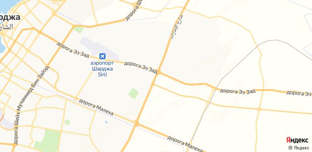 Sharjah на карте