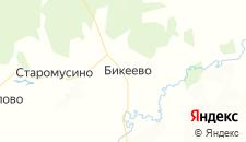 Отели города Ибрагимово на карте