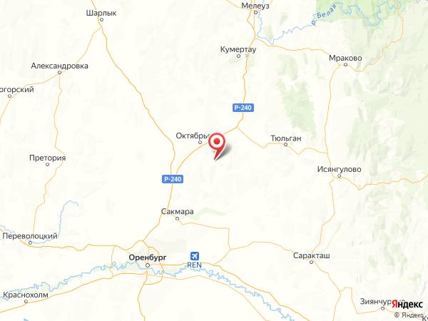 хутор Токари на карте