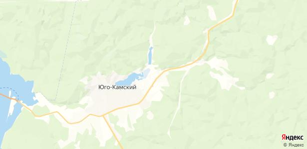Полуденная на карте