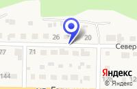 Схема проезда до компании БАНЯ в Краснокамске