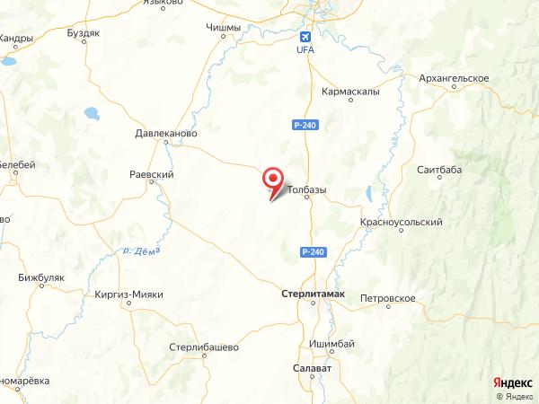 деревня Добровольное на карте