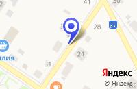 Схема проезда до компании МАГАЗИН ПРОМТОВАРЫ в Ильинском