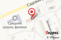 Схема проезда до компании Библиотека в Красном Восходе