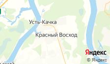 Отели города Красный Восход на карте