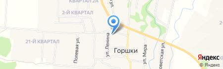 Горшковская сельская врачебная амбулатория на карте Горшков