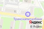 Схема проезда до компании Семейная в Краснокамске