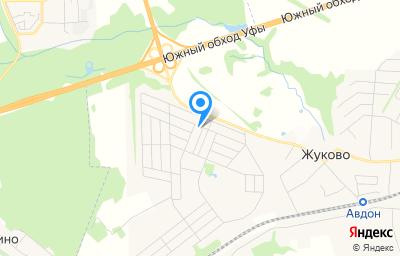 Местоположение на карте пункта техосмотра по адресу Респ Башкортостан, Уфимский р-н, с Михайловка, ул Дмитриевская, д 1