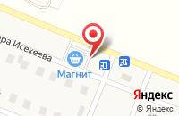 Схема проезда до компании Байрам в Жуково