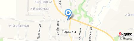 Администрация Заболотского сельского поселения на карте Горшков