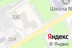 Схема проезда до компании Мастерица в Краснокамске