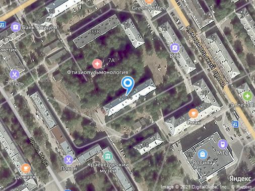 Продаю 2-комнатную квартиру, 42 м², Краснокамск, проспект Комсомольский, 14