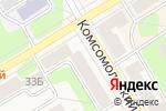 Схема проезда до компании ЗАВОД ПЛАСТИКОВЫХ ОКОН ПЛАНЕТА СВЕТ в Краснокамске