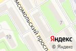 Схема проезда до компании Краснокамский муниципальный фонд поддержки малого предпринимательства, НО в Краснокамске