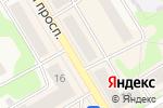 Схема проезда до компании МТС в Краснокамске