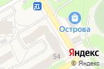 Схема проезда до компании Пермское региональное отделение Фонда социального страхования РФ, ГУ в Краснокамске