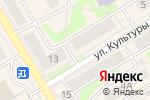 Схема проезда до компании Маруся в Краснокамске