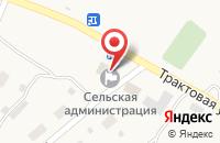 Схема проезда до компании Белый император в Жуково