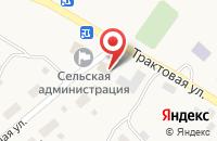 Схема проезда до компании Продовольственный магазин в Жуково