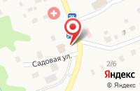 Схема проезда до компании Продовольственный магазин в Таптыково