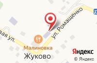 Схема проезда до компании Жуковская сельская библиотека №3 в Жуково