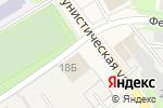 Схема проезда до компании Тех-КРЕП в Краснокамске