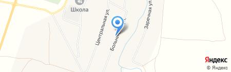 Продовольственный магазин на Больничной на карте Старых Камышл