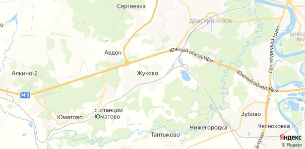 Жуково на карте
