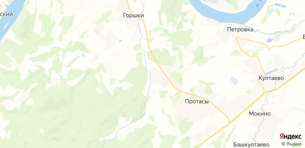 Большакино на карте