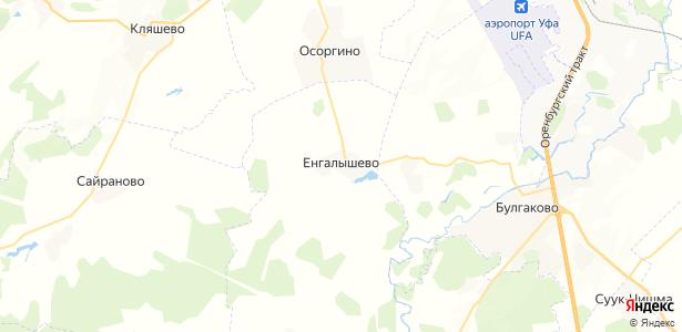 Енгалышево на карте