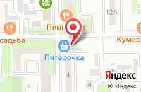 Схема проезда до компании Фуэте в Новороссийске