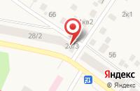 Схема проезда до компании Байрам в Дмитриевке