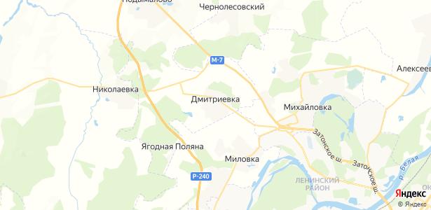 Дмитриевка на карте