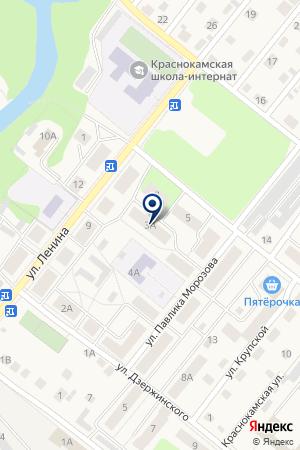 АВАНГАРД СЕРВИС на карте Краснокамска