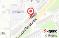Схема проезда до компании Дизайн-Бюро София в Кумертау