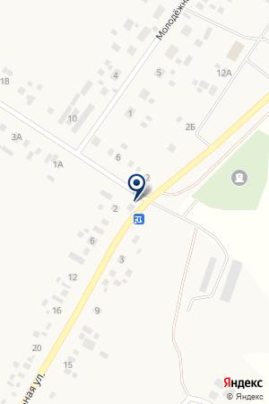 Продовольственный магазин на карте Айгулево